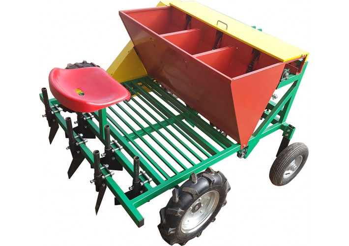 3 rows automatic garlic planter (tractor mounted)
