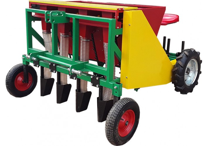 4 rows automatic garlic planter (tractor mounted)